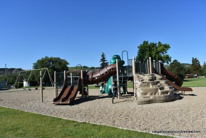 North Dinosaur Trail Playground - Drumheller With Kids