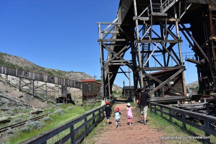 Atlas Coal Mine - Drumheller with Kids