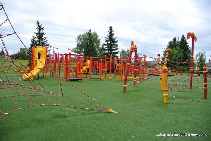Avondale Park Playground, Grande Prairie, AB