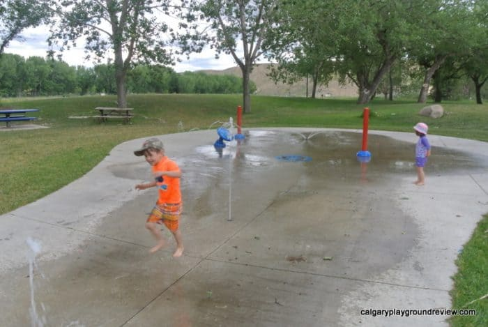 Strathcona Island Playground and Spray Park - Medicine Hat, AB