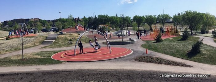 Prairie Winds Park North Playground - Calgary's best playgrounds 2019