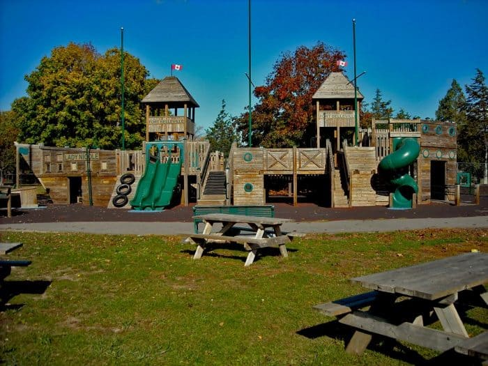 Rotary Club's Pirate Ship playground - Belleville, ON