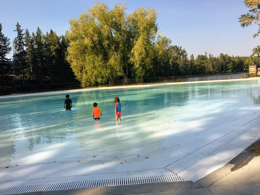 Bowness Park Wading Pool Calgaryplaygroundreview