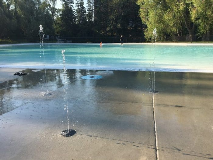 Bowness Park Wading Pool