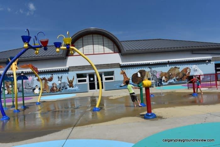Lacombe Spray Park
