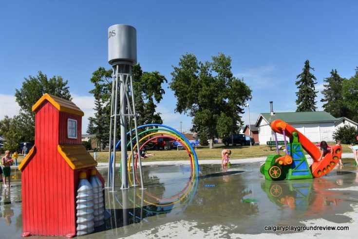 Spray Parks in Towns Near Calgary