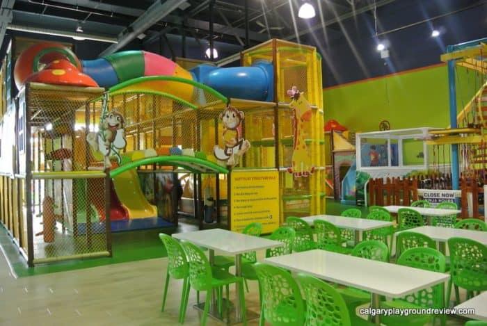 Krazy Monkey Indoor Playground Calgaryplaygroundreview Com
