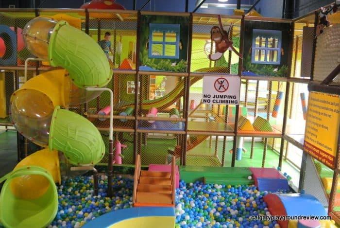 Krazy Monkey Indoor Playground - Calgary indoor playgrounds