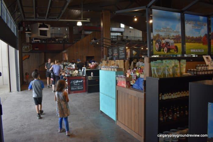 Granary Road's indoor market