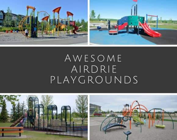 Awesome Airdrie Playgrounds