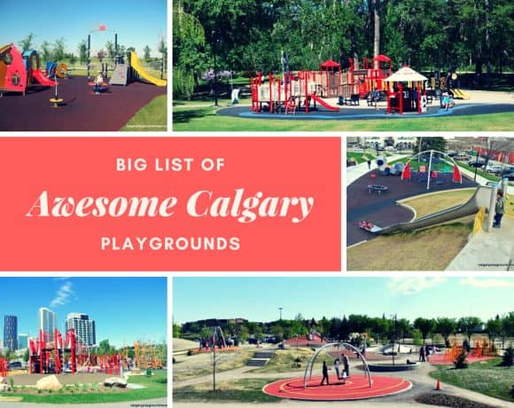 Big List of Awesome Calgary Playgrounds