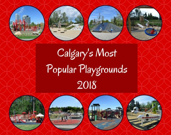 Calgary's top 15 Most Popular Playgrounds – 2018
