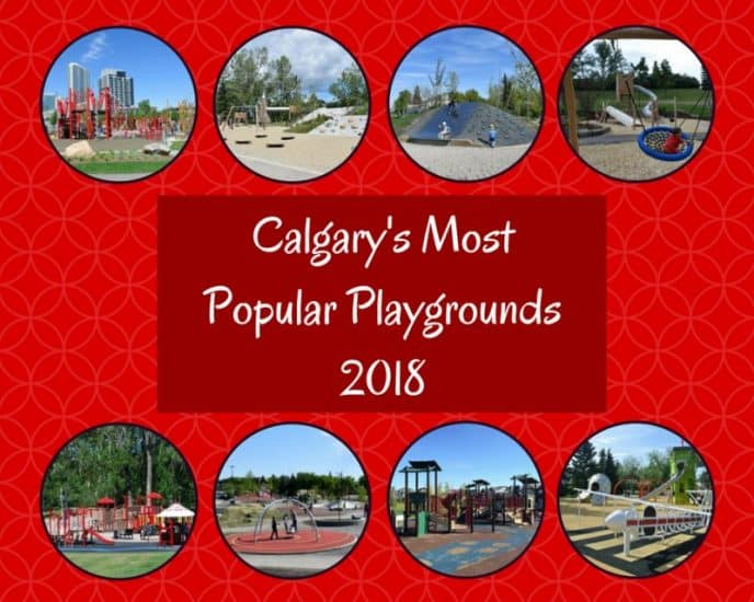 Calgary's Most Popular Playgrounds graphic