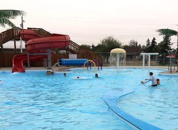 Raymond Outdoor Aquatic Centre