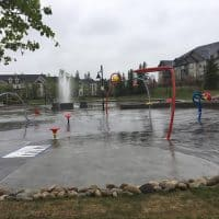Prestwick Common – Canada 150 Splash Park in McKenzie Towne