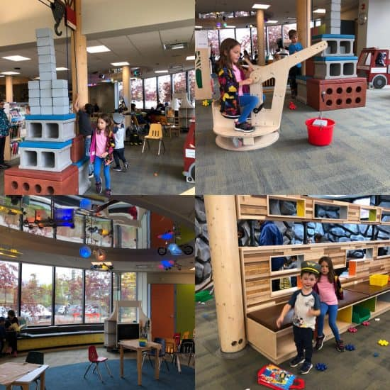 Signal Hill Library Early Learning Centre - building area, puppet theatre - free winter fun