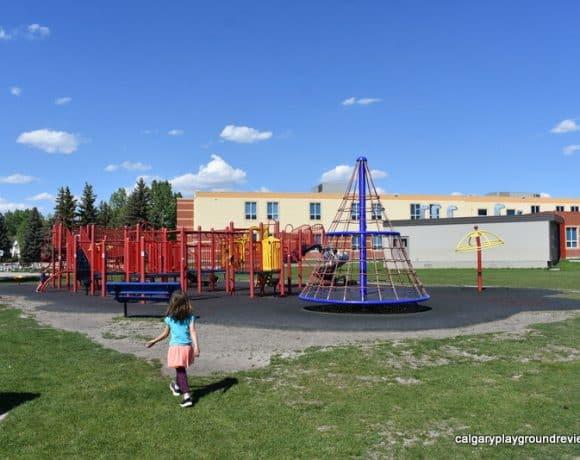 Fish Creek School Playground