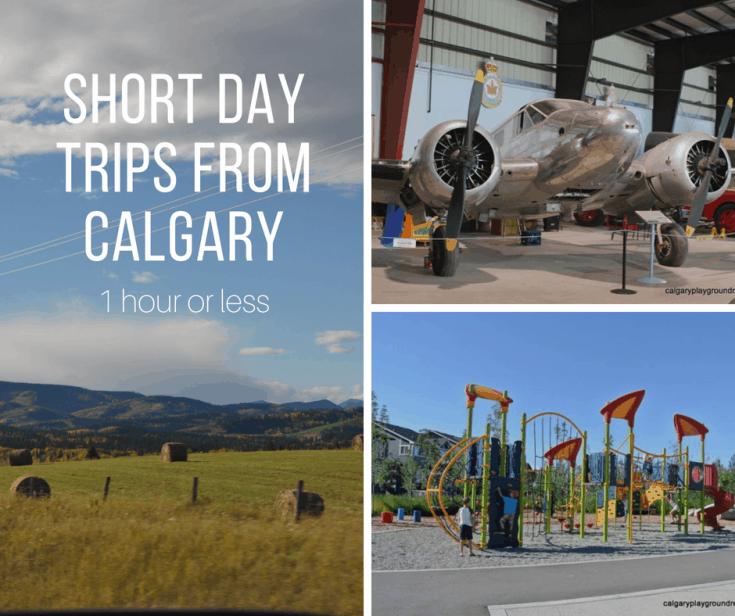 Short Calgary Day Trips (less than 1 hour from Calgary)