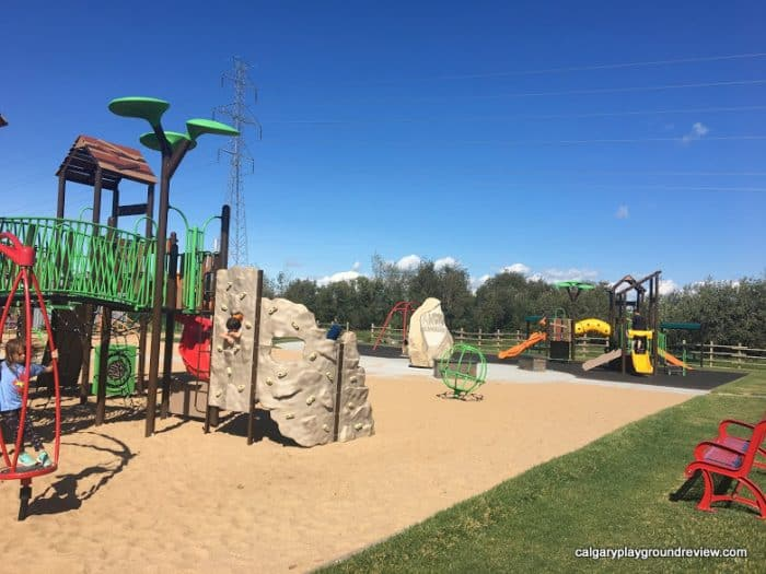 Andy's Place Playground - Fort Saskatchewan - Awesome Edmonton Playgrounds - South of the River