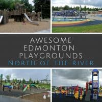 Awesome Edmonton Playgrounds - North of the River