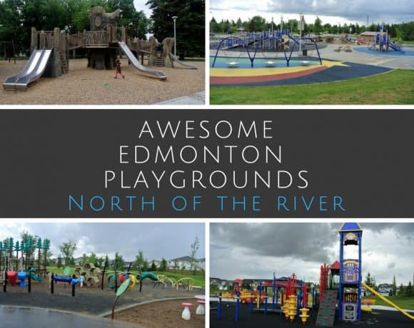 Edmonton's Best Playgrounds – North of the River – Some of the best playgrounds in and around Edmonton
