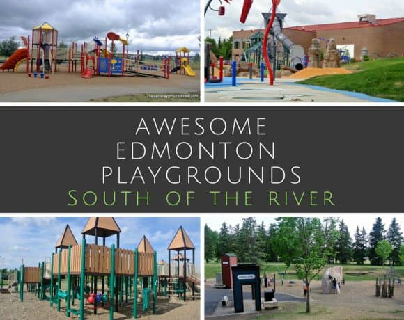 Edmonton's Best Playgrounds – South of the River – Some of the best playgrounds in and around Edmonton