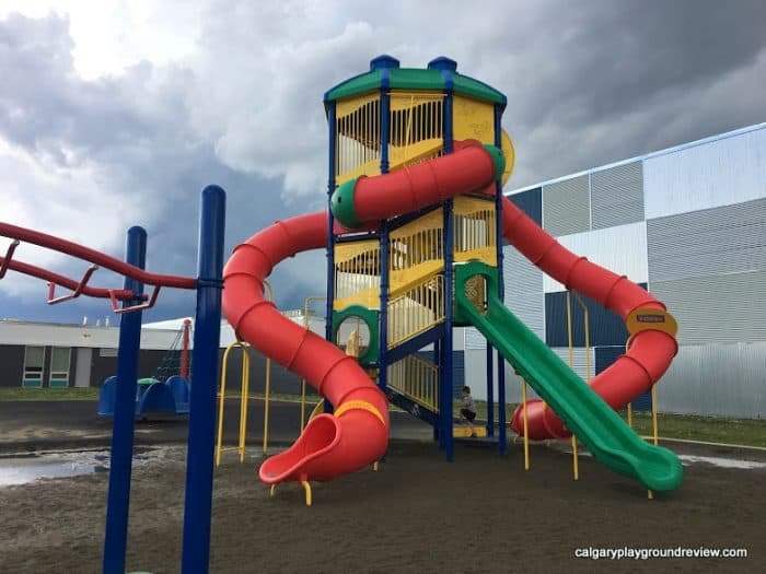 Fultonvale School Playground - near Sherwood Park - Awesome Edmonton Playgrounds - South of the River