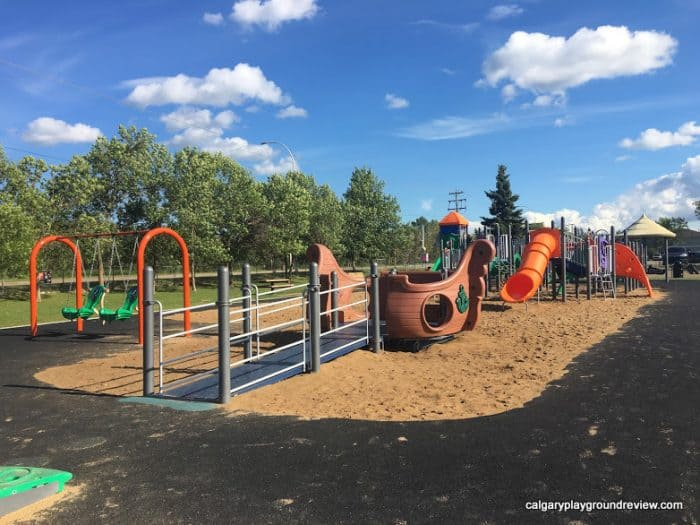 Westboro School Playground - Awesome Edmonton Playgrounds - South of the River