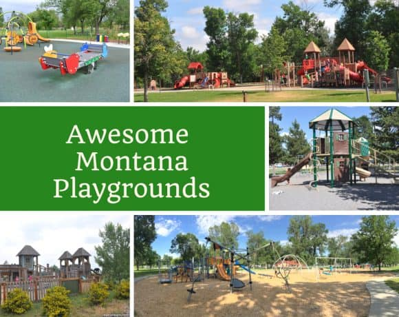 Awesome playgrounds in Montana