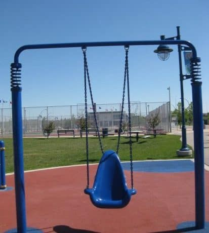 Calgary Playgrounds with Accessible Swings
