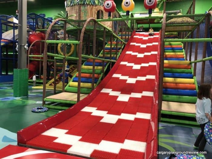 Roller tube slide