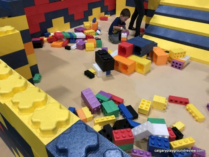 Giant Lego building area