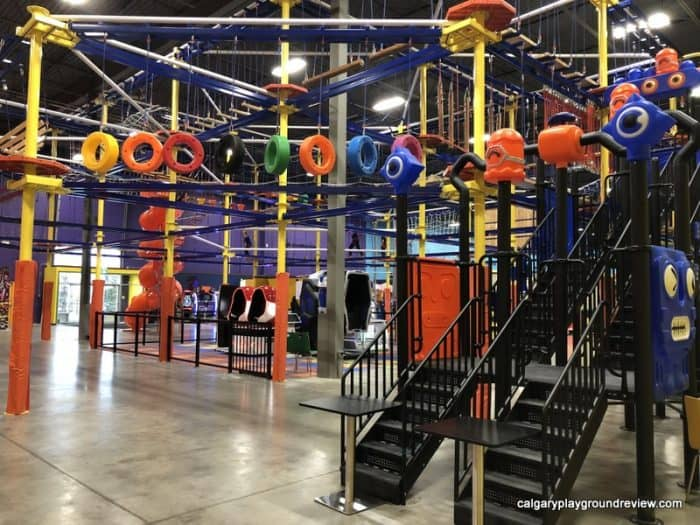 Indoor Aerial Rope Course - at the Big Box