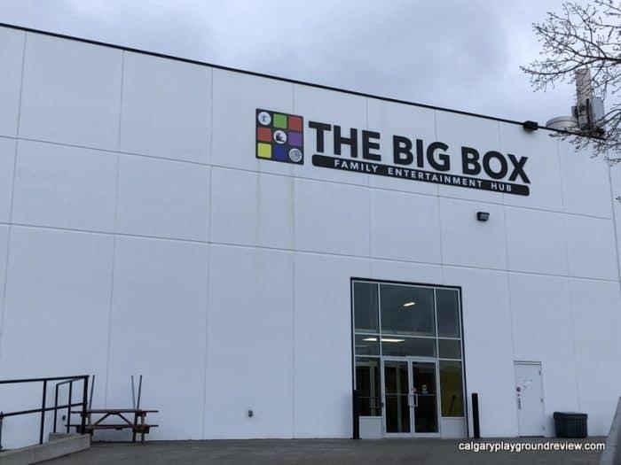 Exterior of the Big Box - Family Entertainment Hub