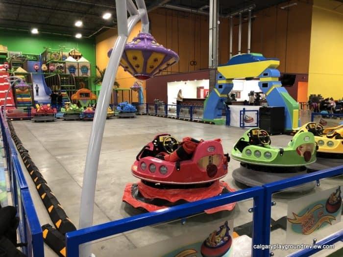 Happy Bumper Electric Bumper cars at the Big Box