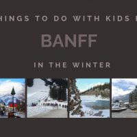 Things to do with Kids in Banff in the Winter