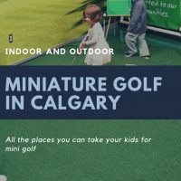 Miniature Golf in Calgary