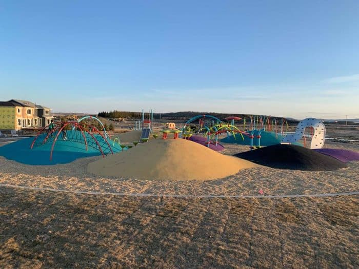 Belmont Mounds of Fun Park  - Calgary's best playgrounds 2019