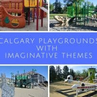 Calgary playgrounds with imaginative themes