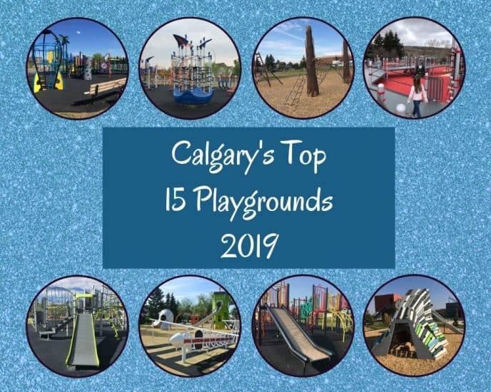 Calgary's Top 15 Playgrounds 2019 Graphic