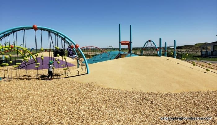 Belmont Mounds Of Fun Park Playground