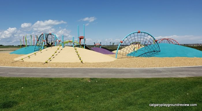 Belmont Mounds Of Fun Park Playground
