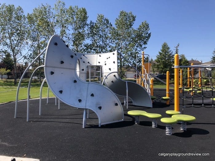 playground equipment at Harvest hills playground