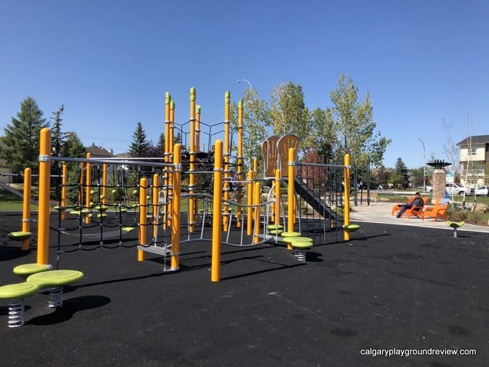 View of Harvest Park Playground