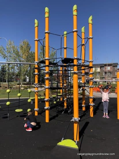 Web playground features at Harvest Park