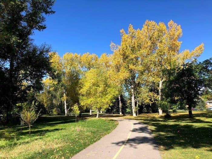 Confederation Park - Fall Colours