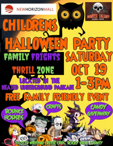 New Horizon Mall Halloween Party