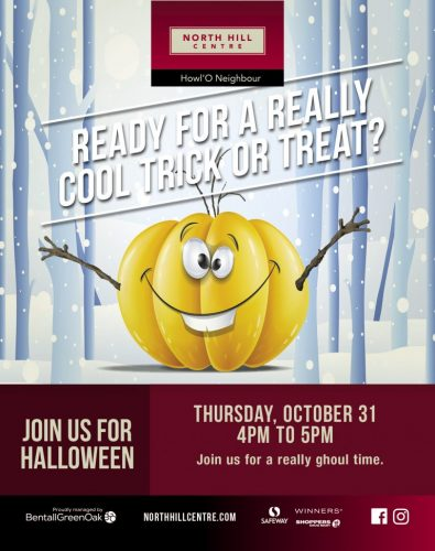 North hill Mall trick or treat