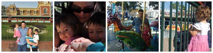 Disneyland photo collage