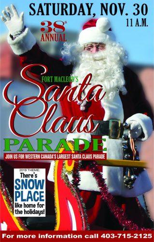 Santa Claus Parades Near Calgary, Alberta